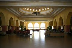 luxury Tunisian hotel hall Stock Image