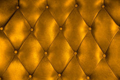 Luxury upholstery leather button chair texture Stock Photo