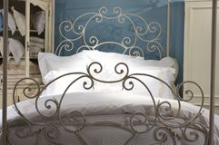 Luxury upscale bedding and linens Royalty Free Stock Photo