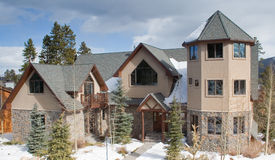 Luxury Vacation Home in Colorado Royalty Free Stock Images