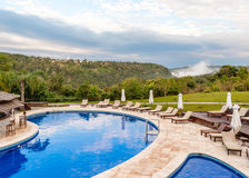 Luxury vacation in the jungle near the Iguazu Falls, Argentina - Stock Images