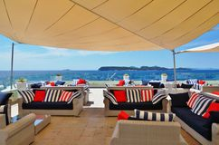 The luxury Valamar Dubrovnik President hotel in Croatia Stock Photo
