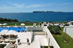 The luxury Valamar Dubrovnik President hotel in Croatia Royalty Free Stock Image
