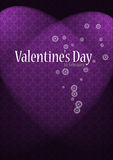 Luxury valentines background Stock Image