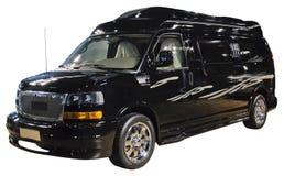 Luxury van isolated. On white Royalty Free Stock Photography