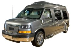 Luxury van isolated Royalty Free Stock Photography
