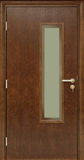 Luxury veneer door. Royalty Free Stock Photos