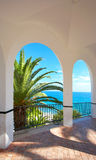 Luxury view from luxury villa Royalty Free Stock Photos