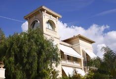 Luxury villa. Luxury home / villa in Monte Carlo / Monaco royalty free stock image