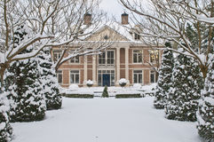 Luxury villa stock photos