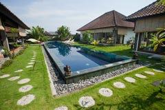 Luxury villa Stock Image
