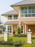 Luxury villa Royalty Free Stock Photo