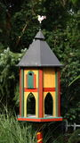 Luxury Villa for birds. Nesting box in spring / summer,  feeding grounds in winter Stock Images