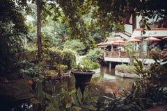 Luxury  villa in Kuta Royalty Free Stock Photos