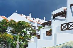 Luxury Villa. Modern luxury villa at luxury hotel, Tenerife stock image