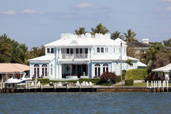Luxury villa in Naples, Florida royalty free stock photo