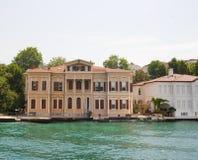 Luxury Villa On A River Royalty Free Stock Photo