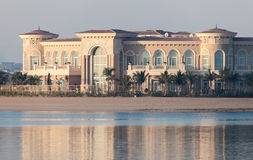 Luxury Villa at the Palm Jumeirah, Dubai Royalty Free Stock Photo