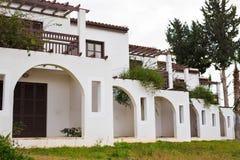 Luxury Villa Resort Interior. Outdoor. Modern beautiful luxury hotel resort building Royalty Free Stock Photo