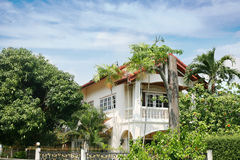 Luxury villa in Thailand. Stock Photo