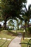 Luxury villas in beach resort Stock Photography