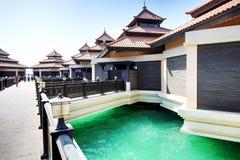The luxury villas in Thai style hotel Stock Photography