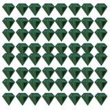 Luxury exotic  VINT. Emeralds on white. LUXURY VINT. DESIGN Pattern Emeralds green on white. luxury green emeralds /// On white background    unique design Vector Illustration