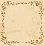 Luxury vintage background. Stock Images
