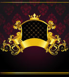 Luxury vintage banner Royalty Free Stock Image