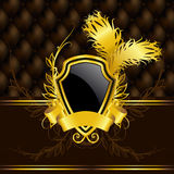 Luxury vintage banner Royalty Free Stock Images