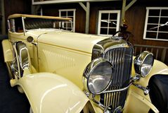 Luxury vintage car Stock Images