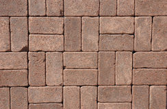 Luxury Vintage Ceramic Clinker Pavers for Patio. Stock Image