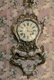 Luxury vintage clock Royalty Free Stock Image