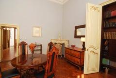 Luxury vintage dinning room stock photos