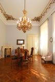 Luxury vintage dinning room royalty free stock image