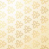 Luxury vintage floral decoration background Royalty Free Stock Photo