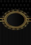 Luxury vintage frame for design packing Royalty Free Stock Photo