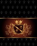 Luxury vintage frame template Royalty Free Stock Images