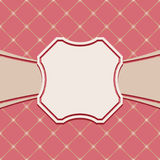 Luxury vintage frame template. Old Royal pattern. A decorative r Royalty Free Stock Image