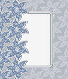 Luxury vintage frame template. Old Royal pattern. A decorative r Stock Image