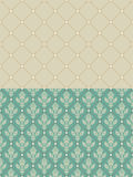 Luxury vintage frame template. Old Royal pattern. A decorative r Stock Photography