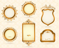 Luxury vintage frames Royalty Free Stock Photo