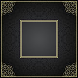 Luxury vintage invitation frame with ornament Royalty Free Stock Photos
