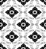 Luxury vintage seamless pattern Royalty Free Stock Photography