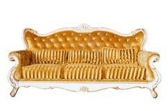 Luxury Vintage Sofa On White Background Royalty Free Stock Photo
