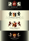 Luxury vintage templates logotype collection business sign ident Stock Photography