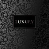 A luxury vintage vector card. Royalty Free Stock Image