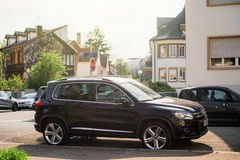 Luxury Volkswagen Tiguan Compact crossover Royalty Free Stock Photography