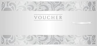 Luxury Voucher Royalty Free Stock Photos