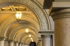 Luxury walkway Stock Image